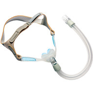 Philips Respironics Nuance Pro Gel Frame Nasal Pillow Mask with Headgear  CPAP Mask S,M,L Pillows included With Headgear