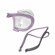 "Product Features  As a female sleep apnea patient, you wouldn't typically wear shoes or clothes made to fit a man. While they are just as functional as women's apparel, you probably wouldn't feel as comfortable as you would if you were wearing clothes made to fit you. ResMed believes that the same principle should apply to CPAP masks. Why waste time and energy struggling with a bulky mask built for larger features, when you can find one that gives you such a better fit? The AirFit P10 For Her, developed by ResMed, offers all the same advantages as the celebrated AirFit P10 Nasal Pillows mask, with a customized twist; women will appreciate the light-as-a-feather frame, elegant pink-and-gray color scheme, and petite yet plush nasal pillows included with the AirFit P10 For Her.  Features      Refined and Polished Design     Smaller Nasal Pillows     Flexi-Tube Gives You Lots of Wiggle-Room     Functions with Quiet Grace  Refined and Polished Design  ResMed created the AirFit P10 For Her to be classic and refined, just like you. But don't take our word for it. As a winner of the renowned Red Dot Award for design, the AirFit P10 line of nasal pillow masks has proven its high standards of quality to customers around the nation. Assembly and disassembly of the mask is feasible with just one click, making it a piece of cake to clean and maintain. The mask's frame goes above and beyond to such an extent, it just might seem to float off your face! Not only is the mask devised to accommodate smaller faces, it carries an astonishing 50% less weight than the Swift FX Nasal Pillows Mask. At a mere 1.6 ounces, the AirFit P10 manages to completely redefine what it feels like to undergo CPAP.  Smaller Nasal Pillows  Are you sick of trying to keep perfectly still to preserve your seal, only to wake up in the morning Nasal pillows are essential to the success of the AirFit P10 For Her. Affixed to your nasal passages in an unshakable placement, they consistently deliver treatment you can trust without crowding your face or getting in the way. Cushions line two walls of the nosepiece to form an impeccable seal, while padding your nose with springy and supple material. Proper arrangement of the pillows guarantees you a night of effective therapy, but some CPAP users find it challenging to adjust the mask in a dim bedroom. No need to grope around your mask in the dark, trying to get the right position. Raised letters spell RESMED at the top of the mask, making it easier for you to feel which way is up. The pillows are helpfully marked ""R"" and ""L"" to ensure correct positioning. As a consideration of smaller face sizes in female patients, the AirFit P10 For Her includes Extra Small, Small, and Medium pillow sizes."