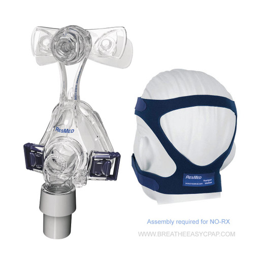 ResMed Mirage Micro Mask Without Headgear For Kids ResMed wants to make CPAP therapy easier to navigate for both children and parents, which is why they manufactured the Mirage Micro For Kids Nasal Mask. This mask is approved by the FDA to treat pediatric sleep apnea patients, and meant for use by children 7 years old or older. The lightweight mask frame is specially designed to fit petite features, and will help your child get used to the big changes in sleep routines that sleep apnea equipment often presents. The frame even leaves room for a clear line of vision, in case your child wants to read a chapter from their favorite book or watch a cartoon before they go to bed.