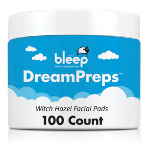 Bleep DreamPreps Witch Hazel Facial Pads-100 Count