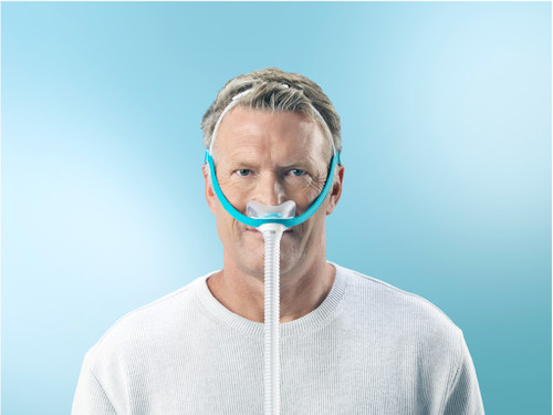F&P Evora Nasal Mask-Fully assembled with Headgear
