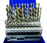 HSS Metric Drill Bit Set 51PC 1mm - 6mm 0.1 Increments Engineering US Pro 2619