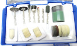 24pc Cleaning & Polishing Kit    Air Die Grinder Etc  TZ HB308