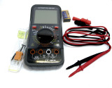 Digital Multimeter Voltmeter Automotive Ohm Battery Tester Ammeter Lge LCD 6798