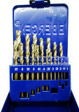 19pc HSS  Cobalt Drill Bit Set Metric Sizes 1mm -10mm By Bergen 2531