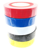 Multi Coloured  Insulating / Insulation / Electrical Tape 19mm x 20m  Pack of 5