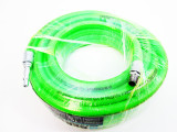 "US PRO 8MM X 10MTRS Hi Vis Green Hybrid Air Airline Hose 1/4"" BSP 8174"