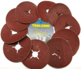 115mm 36 Grit Fibre Discs Pack of 10 -Sanding, Abrasives  TZ AB148