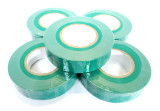 Green  Insulating / Insulation / Electrical Tape 19mm x 20m  Pack of 5 AD003