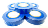 Blue Insulating / Insulation / Electrical Tape 19mm x 20m  Pack of 5 AD003