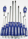 12pc Heavy Duty Hex Shank  Screwdriver Set  Engineering, TZ  SD190