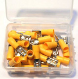 30pc Yellow Female Terminals Set Of 2, Electrical, Toolzone PL323