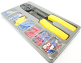 101pc Wire Crimper / Stripper Plier & Electricical Terminal Set TZ PL262