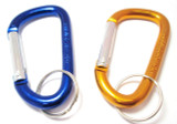 2 Pack of Aluminium D Grab Links /  Carabiners 8mm diameter -   HW065