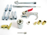 """UK Compressor Accessory Kit / Fittings / 1/4"""" Air Line Connectors By US PRO 8785"""