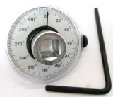 "Torque Angle Gauge 1/2"" Dr Square New Angular Wrench By US Pro 6796"