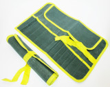 12 Pocket Canvas Tool Roll Chisel / Carpentry / Spanners New  TZ TB029