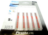 Piranha Black & Decker Jigsaw Blades Assorted For Metal 5x HSS X28110 New