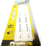 Piranha Black & Decker Hi-Tech Progressor Jigsaw Blades For Metal & Wood 2 x 105