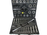 45pc SAE / AF / Imperial / UNF / UNC Tap and Die Set New Engineering US Pro 2513