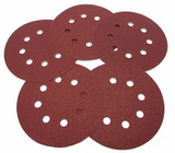 Piranha Sanding Discs 60 Grit 125mm Pack of 25 Discs  X32027