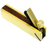 Mini Bull Nose Plane Brass/Wood Toolzone HB256 New Hobby Woodworking Etc