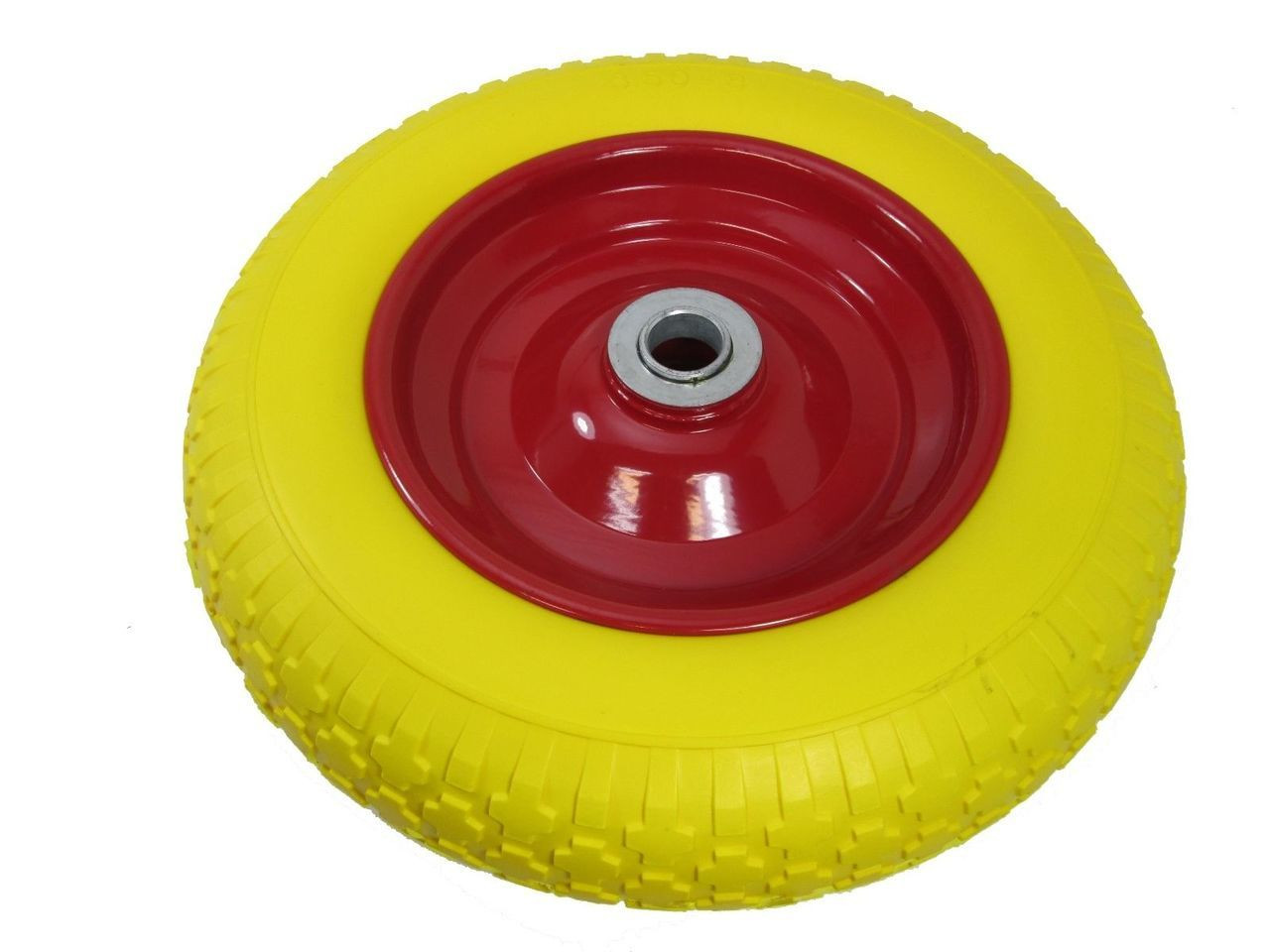 2x10 Puncture Burst Proof Solid Rubber Sack Truck Trolley Wheels Tyres RM027
