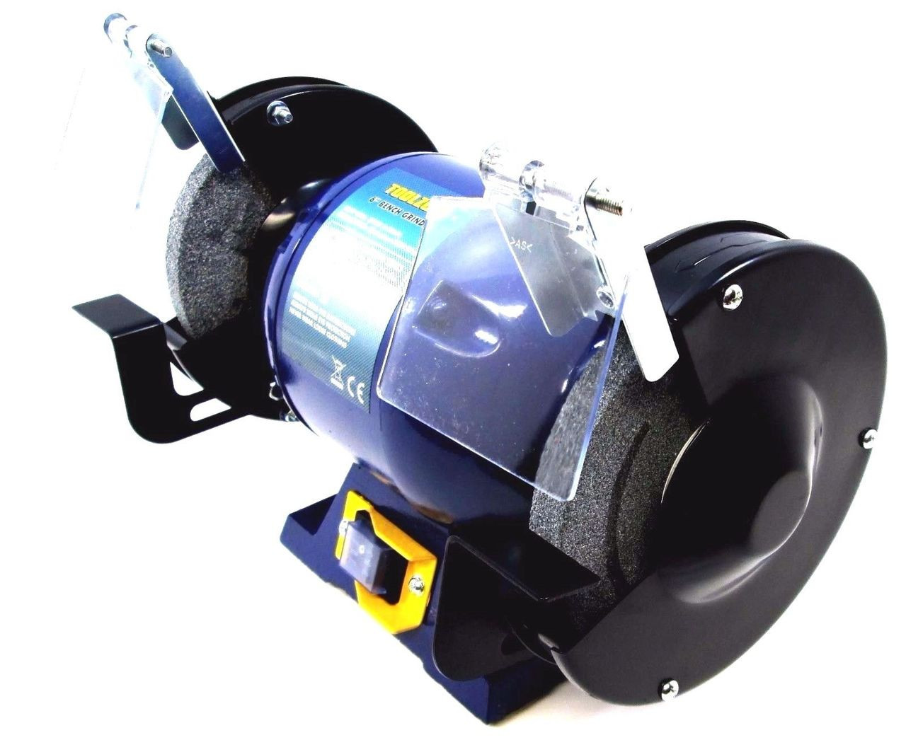 Marvelous 150Mm 6 Inch 370W Bench Grinder Electric Twin Wheel Metal Grinding Stone Pw057 Caraccident5 Cool Chair Designs And Ideas Caraccident5Info