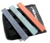 Neilsen Sharpening Stones 102 280 600 Grit Carborundum Sharpener set of 3