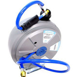 US PRO Retractable Air Line Hose Reel 15m Wall Mountable Compressed Airline 8183