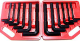 12pc Jumbo AF Imperial & Metric Allen Hex Keys Farm Plant Machinery HGV HX024