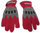 Brand Mechanics Work Safety Gloves Leather Reinforced Size M 1 pair BBMECGREM