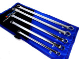 US PRO 5pc Aviation Double Ended Ring Extra Long Spanner Set 8mm - 19mm 3223