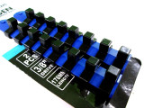 "BERGEN 2pc 3/8"" Drive Socket Holder Storage Rail Set 16 Clips NEW 1245"
