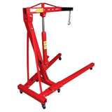 2 Ton Hydraulic Folding Workshop Engine Crane Hoist Lift Stand Wheels AU158