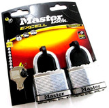 Master Lock Excell Security Level 9 Armoured Laminated Steel Padlock M5T 4 Keys