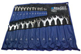 BERGEN 25pc Metric Combination Combo Wrench Spanner Set 6mm - 32mm