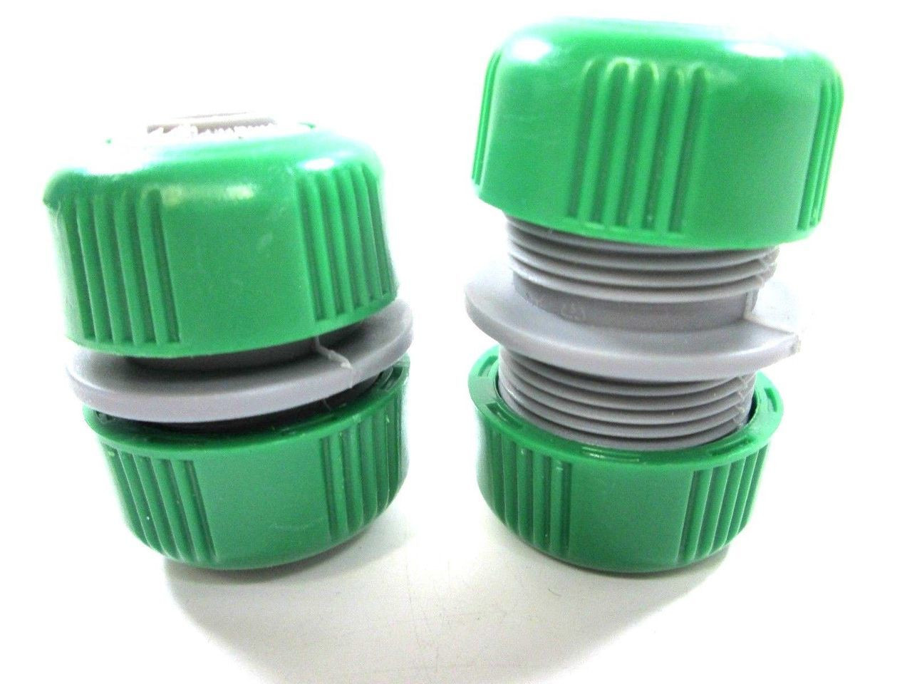 """2 x Hose Joiner 1/2"""" Leak Proof Connector Use On Rubber Or Plastic Hose 70133C"""