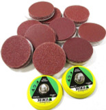 "100 2"" Hook & Loop Sanding Mixed Grit Discs & 2 x 50mm Hook & Loop Sanding Pads"