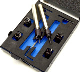 Spot Weld Cutter Set Sprung Loaded Guide Precision Control Double Ended DR038