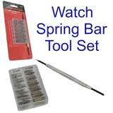Neilsen 100PC WATCH STRAP SPRING PIN BAR SET 8MM - 19MM WITH REMOVAL TOOL CT4298