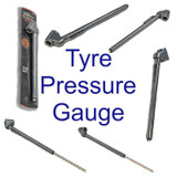 Tactix Pocket Tyre Pressure Gauge Guage No Batteries Required Pen Style 386135