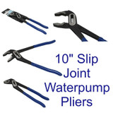 "10"" 250mm Box Joint Waterpump Pliers Pipe Wrench Grips Plumbers Slim Jaw 2205"