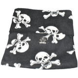 Genuine New Zealand Polo Pancho Black Skull Scarf Snood Hat Balaclava Poncho 20 Ways To Wear