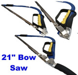 Bow Wood Hand Saw 21 Inch 535mm Tubular Tapered Bowsaw Tree Branch Cutter GD104