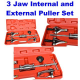Internal External Bearing Puller Set Inner 3 Jaws 3 Legs Slide Hammer CAR008