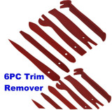 Mini Panel Trim Removal Set 6pc Door Trim Clip Remover CAR018