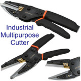 Multipurpose Cutter Cutting Tool Snips For Wood Pipe Metal Wire Cable 5 Blades