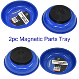 Magnetic Parts Dish Tray 4 Inch Storage Holder Base Hobby Set of 2  AU208