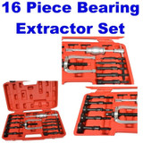 Inner Bearing Blind Hole Remover Extractor Puller Set Pilot Bushes Housing 16pc